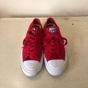 Converse Chuck II red